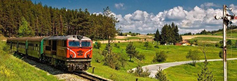 путешествие железная дорога Болгария