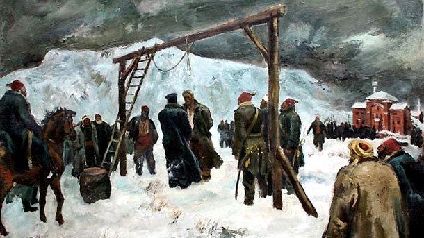 казнь Левского