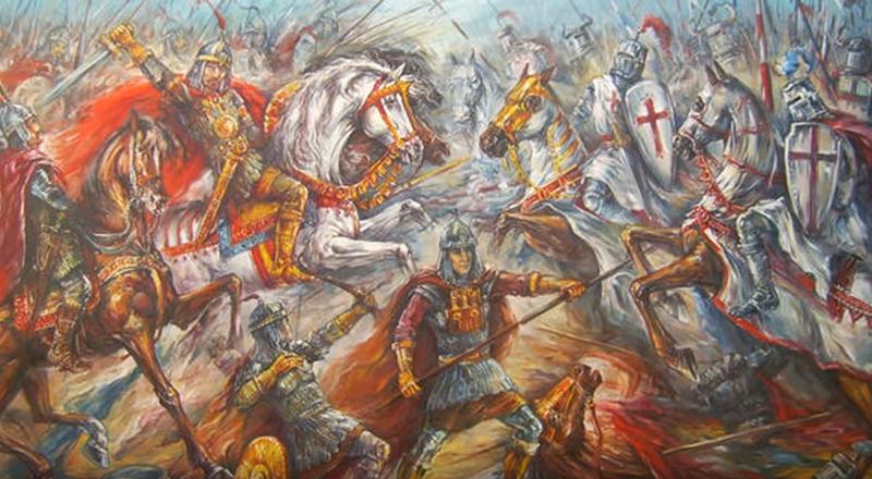 сражение война средние века Болгария