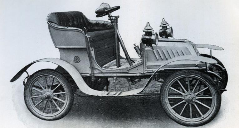 первый автомобиль в Софии